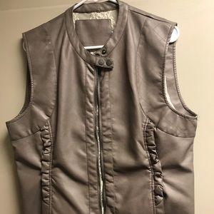 Chic Leather Vest